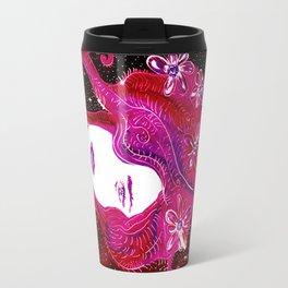 Flower Power SpaceGirl Travel Mug