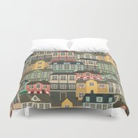 urban Duvet Covers featuring Urban by Julia Badeeva