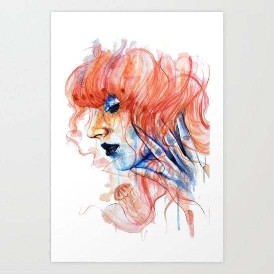 Metamorphosis-jellyfish Art Print