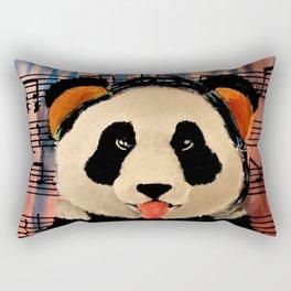 2 A.M. Sunshine Panda Rectangular Pillow