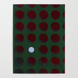 One dot doesn't conform to the norm! Be different! Stand out! Rebel! Poster