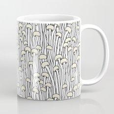 Enokitake Mushrooms (pattern) Mug