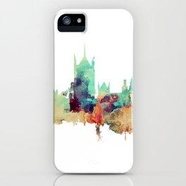 London Watercolor Skyline iPhone Case