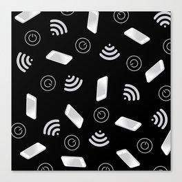 Techy Wi-Fi Canvas Print