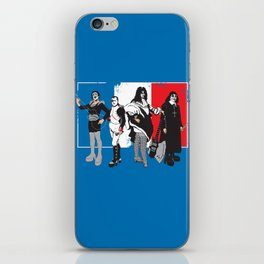 French Kissers iPhone Skin