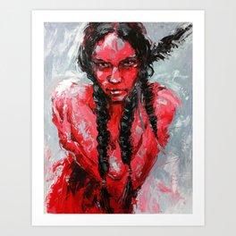 Resisted Rachel Art Print