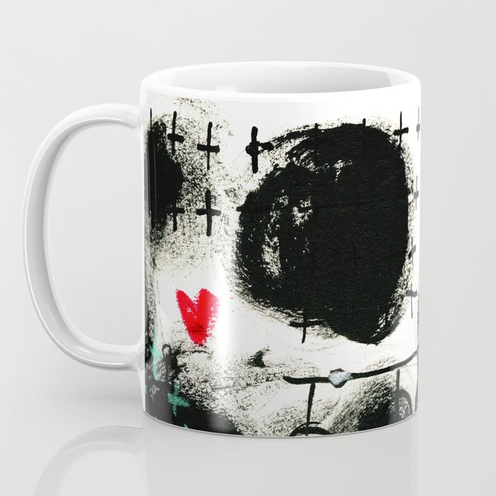 Falling Hearts Coffee Mug