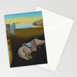 THE PERSISTENCE OF MEMORY--- SALVADOR DALÍ Stationery Cards