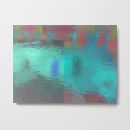 水面[Sui-men] Metal Print