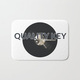 Quality Key: Vinyl Time Bath Mat
