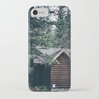 cabin pressure iPhone & iPod Cases featuring Cabin by Garrett Lockhart