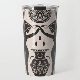 Persephone - Black Travel Mug