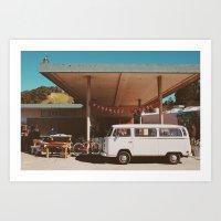 Garage Sale. Art Print