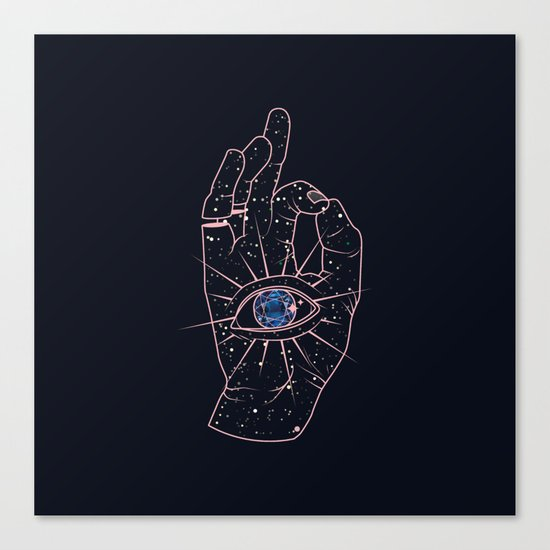 Magic Hand Canvas Print