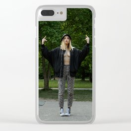 It's only my Opinion Clear iPhone Case