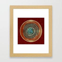 Tribal Maps - Magical Mazes #02 Framed Art Print