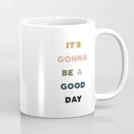 Good Day - Retro Rainbow Coffee Mug