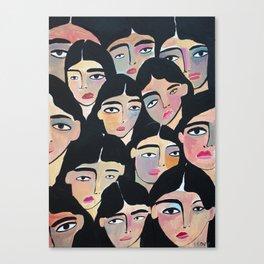 Women´s March Canvas Print