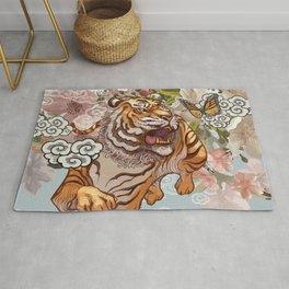 Japanese Traditional Tiger Rug