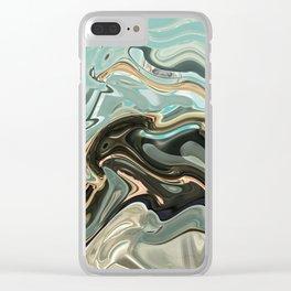 Sky Warp Clear iPhone Case
