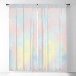soft tie dye Blackout Curtain