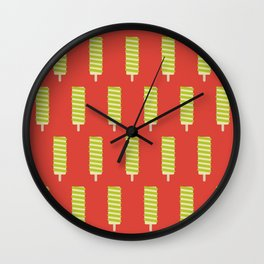 Twister Lolly Wall Clock