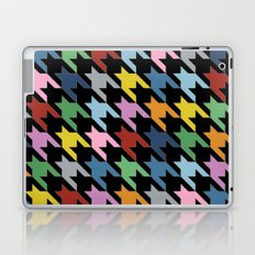 Dogtooth New on Black Laptop & iPad Skin