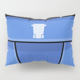 Recycle Truck Pattern Pillow Sham