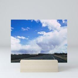 The Road is Calling Mini Art Print