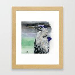 Blue Herring Framed Art Print