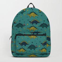 Holiday Stegosaurus Backpack