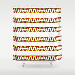 Funnies stripes I Shower Curtain