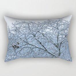 It's snowing Rectangular Pillow