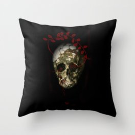 skull#01 Throw Pillow