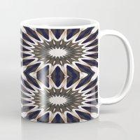 chocolate Mugs featuring Chocolate Flower Mandala Pattern by 2sweet4words Designs