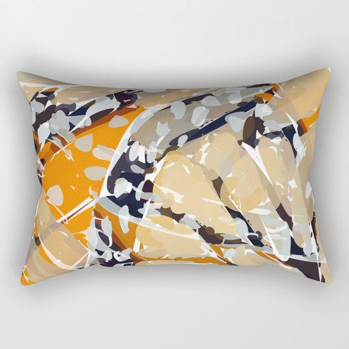 land of forgotten boomerang Rectangular Pillow