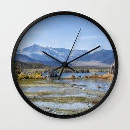 Mono Lake Tufa, No. 5 Wall Clock
