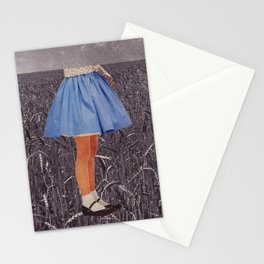 playing field Stationery Cards