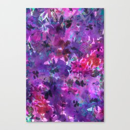Violet Fields Canvas Print
