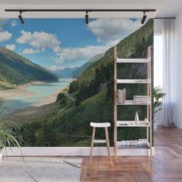 Gepatsch Reservoir Kaunertal Glacier Austria Alps Landscape Wall Mural