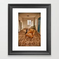Roy's Motel/Cafe Framed Art Print