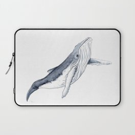 Baby humpback whale for children kid baby Laptop Sleeve