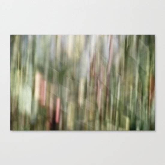 autumn blur Canvas Print