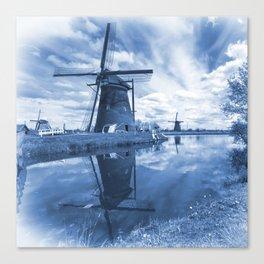 Kinder Delft  Canvas Print