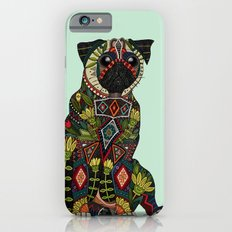 pug love mint iPhone 6s Slim Case