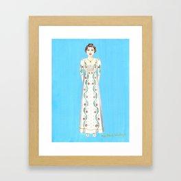 Elizabeth Bennet from Pride and Prejudice Framed Art Print