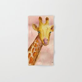 The Giraffe Hand & Bath Towel