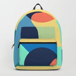Playlist Cover with Abstract Shapes Album Cover Design Backpack