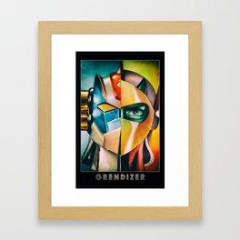 Grendizer - Mazinger Z Framed Art Print