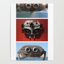 E.T., Optimus Prime, and Jar Jar Binks Poster